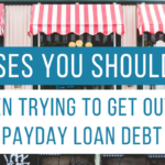 4 Purchases You Shouldn't Make When Trying to Get Out of Payday Loan Debt